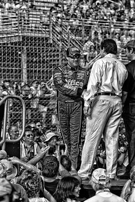 Tony Stewart Photograph - Tony Stewart Intro by Kevin Cable