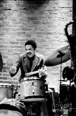 Drummer Photograph - Tony Williams At The Penthouse by Dave Coleman