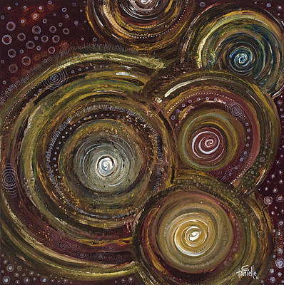 Painting - Too Much Coffee by Tanielle Childers