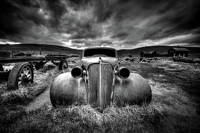 Rusted Cars Photograph - Too Old To Drive by Carsten Schlipf