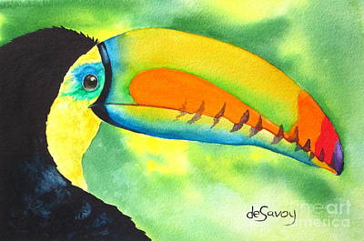 Painting - Tookey  by Diane DeSavoy