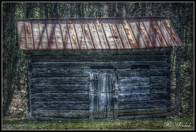 Tool Shed Art Print by Missy Richards