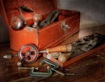 Photograph - Toolbox 1 by David and Carol Kelly