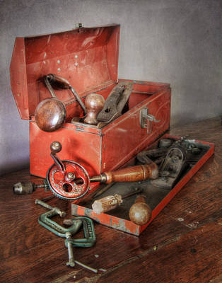 Photograph - Toolbox 2 by David and Carol Kelly