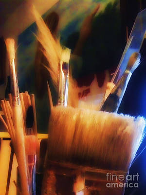 Photograph - Tools Of The Artist by Isabella F Abbie Shores