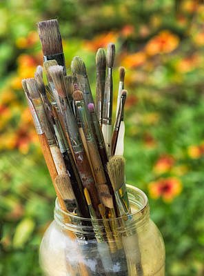 Gold Pattern - Tools of the Painter by David Kay