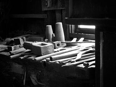 Photograph - Tools Of The Trade by David Beebe