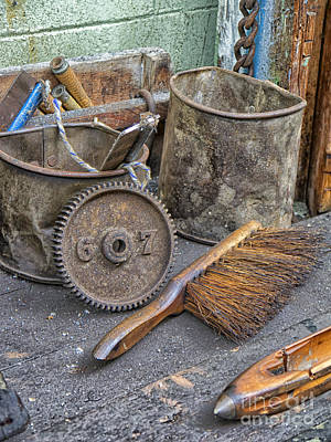 Harle Wall Art - Photograph - Tools Of The Trade by Gillian Singleton