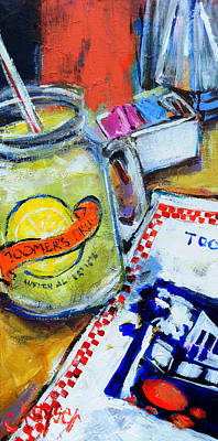 Auburn Painting - Toomer's Lemonade by Claire Kayser