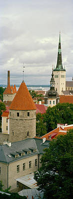 Toompea View, Old Town, Tallinn, Estonia Art Print by Panoramic Images