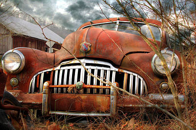 Buick Photograph - Toothless by Lori Deiter