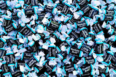 Photograph - Tootsie Roll Blue by Chiara Corsaro