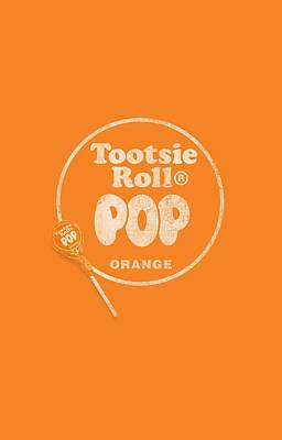 Candy Digital Art - Tootsie Roll - Pop Logo by Brand A
