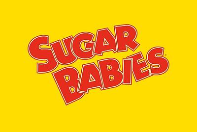 Candy Digital Art - Tootsie Roll - Sugar Babies by Brand A