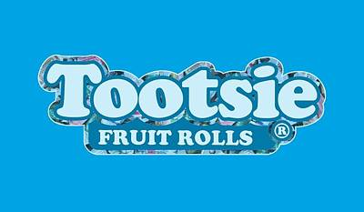 Candy Digital Art - Tootsie Roll - Tootsie Fruit Rolls Logo by Brand A