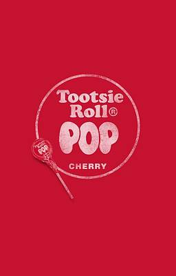 Candy Digital Art - Tootsie Roll - Tootsie Roll Pop Logo by Brand A