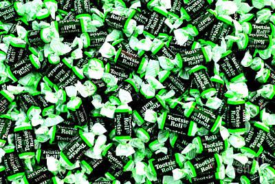 Photograph - Tootsie Rolls Green by Chiara Corsaro