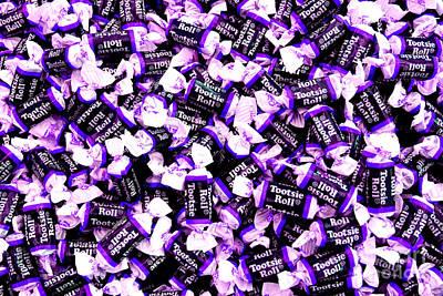 Photograph - Tootsie Rolls Purple by Chiara Corsaro