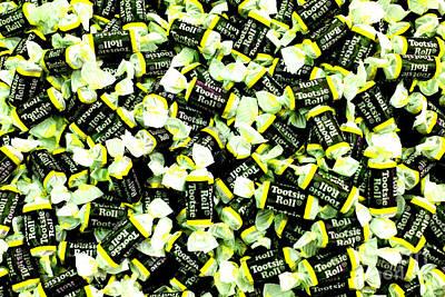 Photograph - Tootsie Rolls Yellow  by Chiara Corsaro