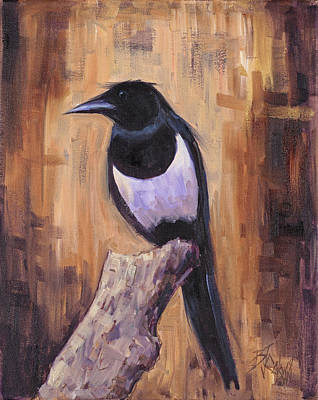 Top Coat And Tail Original by Billie Colson