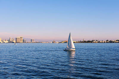 San Diego Bay Photograph - Top Destination San Diego by Christine Till