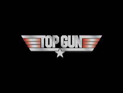 Goose Digital Art - Top Gun - Logo by Brand A