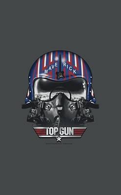 Goose Digital Art - Top Gun - Maverick Helmet by Brand A