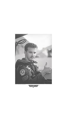 Goose Digital Art - Top Gun - My Wingman by Brand A