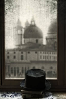 Window Sill Photograph - Top Hat by Joana Kruse