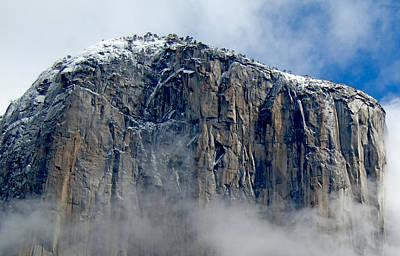Digital Art - Top Of El Capitan - Yosemite National Park by Jim Pavelle
