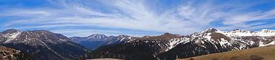 Sawatch Range Photograph - Top Of Independence Pass Panorama by Dan Sproul