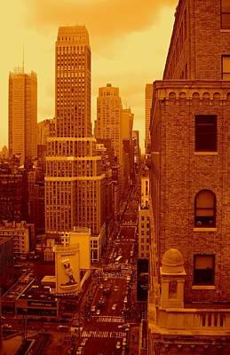 Photograph - Top Of Manhattan by Monique's Fine Art
