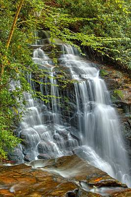 Maggie Valley Photograph - Top Of Soco Falls by Carol Montoya