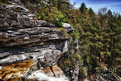 Photograph - Top Of The Falls by Rick Kuperberg Sr