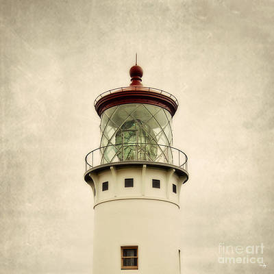 Top Of The Lighthouse Art Print by Scott Pellegrin
