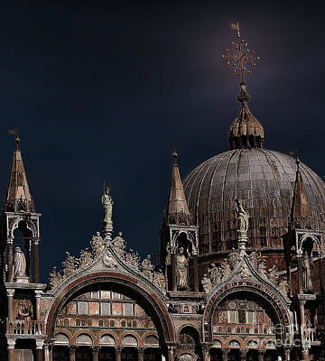 Venecia Photograph - Top Of The Mark-venice by Tom Prendergast