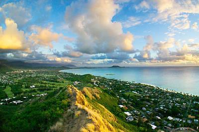 Iwa Photograph - Kailua Bay by Hyemin Lee