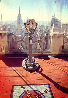 Photograph - Top Of The Rock Rockefeller Center by Dan Sproul
