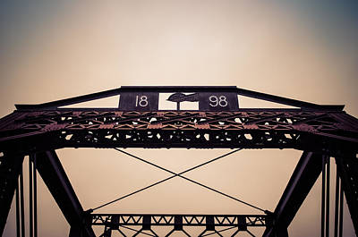 Photograph - Top Of The Train Track Trestle by Anthony Doudt