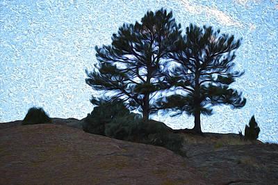 Wall Art - Photograph - Top The Red Rocks by Jimi Bush