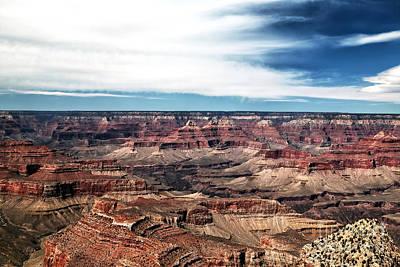 Photograph - Top View South Rim by John Rizzuto
