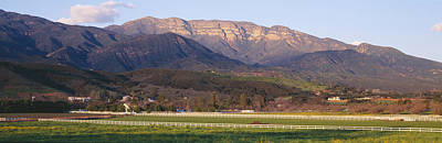 Ojai Wall Art - Photograph - Topa Topa Bluffs Overlooking Ranches by Panoramic Images