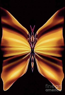 Blue Healer Digital Art - Topaz Silkmist by Raymel Garcia