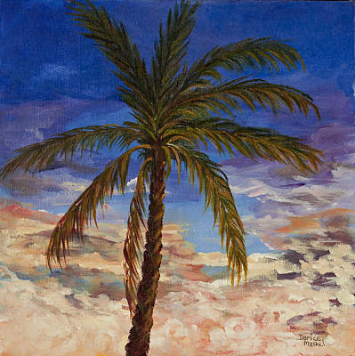 Painting - Topical Palm Tree by Darice Machel McGuire