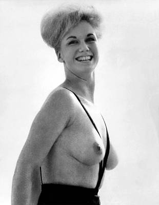 Topless Photograph - Topless Bathing Suit by Underwood Archives
