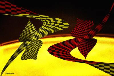 Convergence Digital Art - Topology And Infinite. by Ramon Martinez