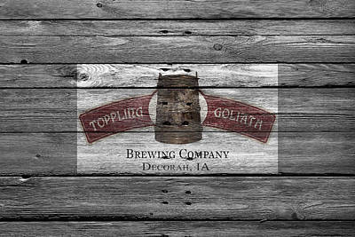 Handcrafted Photograph - Toppling Goliath by Joe Hamilton