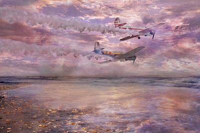Surrealism Digital Art - Topsail Flyers by Betsy Knapp