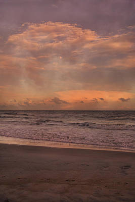 Topsail Island Perfect Evening Art Print by Betsy Knapp