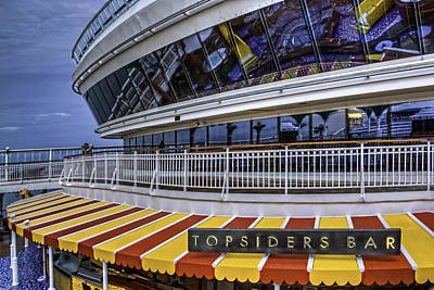 Photograph - Topsiders Bar by Maria Coulson